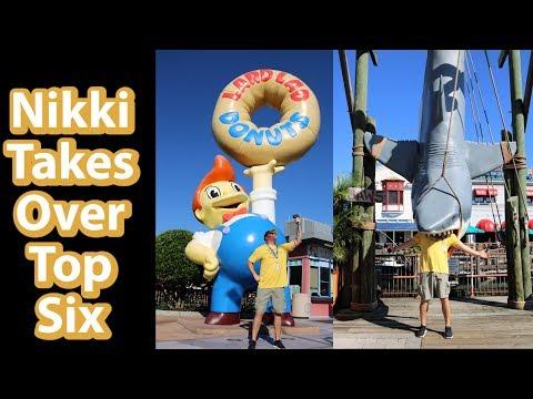 Top 6 Photo Spots Universal Studios   Nix Top Six Party Time Excellent