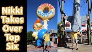 Top 6 Photo Spots Universal Studios | Nix Top Six Party Time Excellent