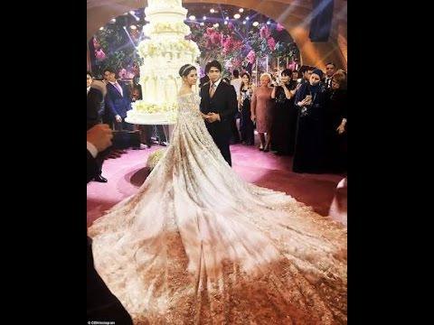 Sheikh of dubai Daughter's wedding Cake!