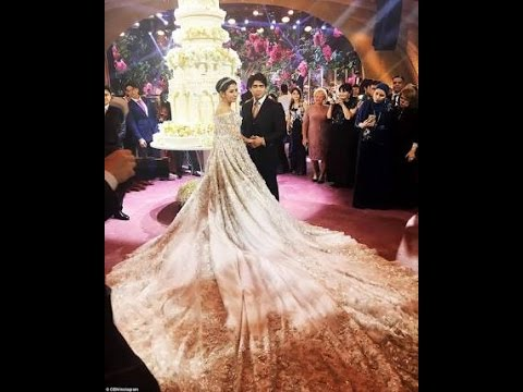 Sheikh of dubai Daughters wedding Cake YouTube