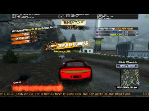 Burnout Paradise - Flyby With 2 Players