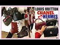 COME 👨👩👧👦 SHOP AND EAT WITH US 💖 LOUIS VUITTON, CHANEL, HERMES + GRWM ❤️ CHARIS