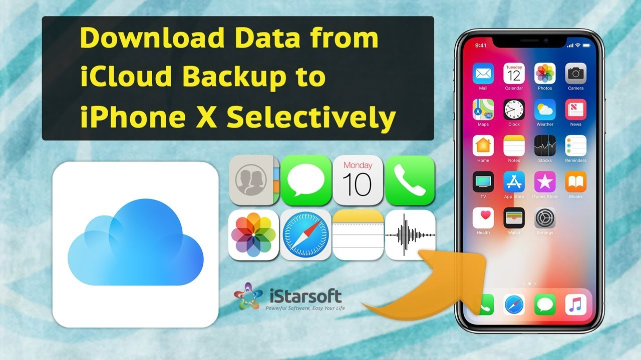 How to download all photos from icloud to iphone x