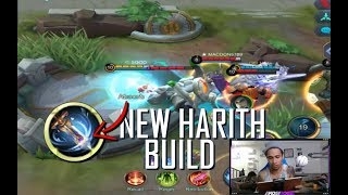 HARITH NEW BEST BUILD - MOBILE LEGENDS - 1000 DIAMONDS GIVEAWAY - GAMEPLAY - RANK - GUIDE