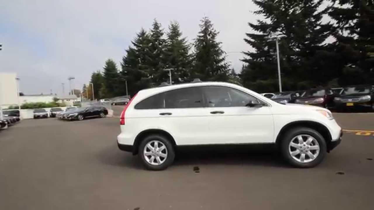 2007 Honda CRV EX  Taffeta White  7C109879  Seattle  Renton