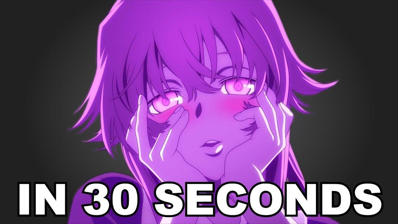 Mirai Nikki In 30 Seconds