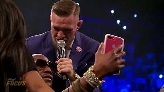 Conor McGregor OWNS Floyd Mayweather Trash Talk at London World Tour