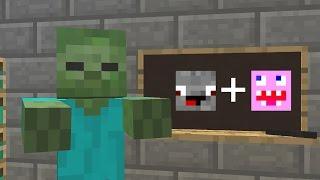Monster School Fortnite Vs PlayerUnknowns BattlegroundsPUBG - Minecraft school spielen