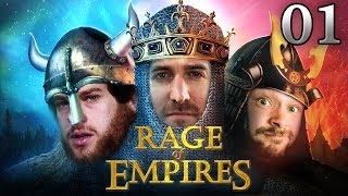 Rage Of Empires mit Marco & Donnie #01   Age Of Empires 2 HD bei Rocket Beans TV