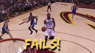 NBA Failed Self Alley Oops