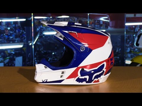 Fox Racing 2016 V1 Mako Motorcycle Helmet Review