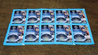 10 PACKS! Topps Champions League 2016/17 Stickers