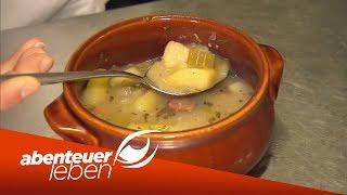 Adlon vs Imbiss Wo gibt39;s die beste Kartoffelsuppe?  Abenteuer Leben  kabel eins