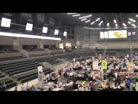 Media tour of new Ralston Arena