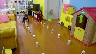 9 fun games for children can play at home without expensive - #stayhome play #withme- Xavi ABCKids
