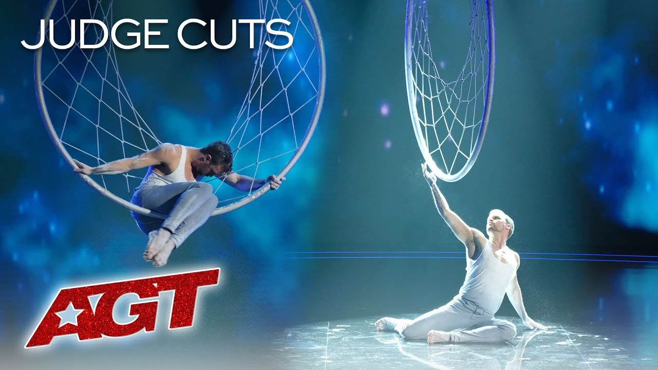 Matthew Richardson Honors Late Father With Emotional Aerial Hoop Act - America's Got Talent 201