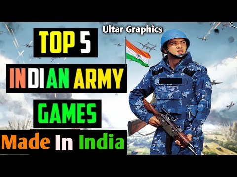 Top 5 Indian Army Games For Android & Ios In 2021 | Offline & Online | High Graphics