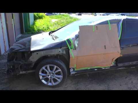 Peugeot 407 Пежо 407 кузовной ремонт в Нижнем Новгороде. Auto Body Repair.