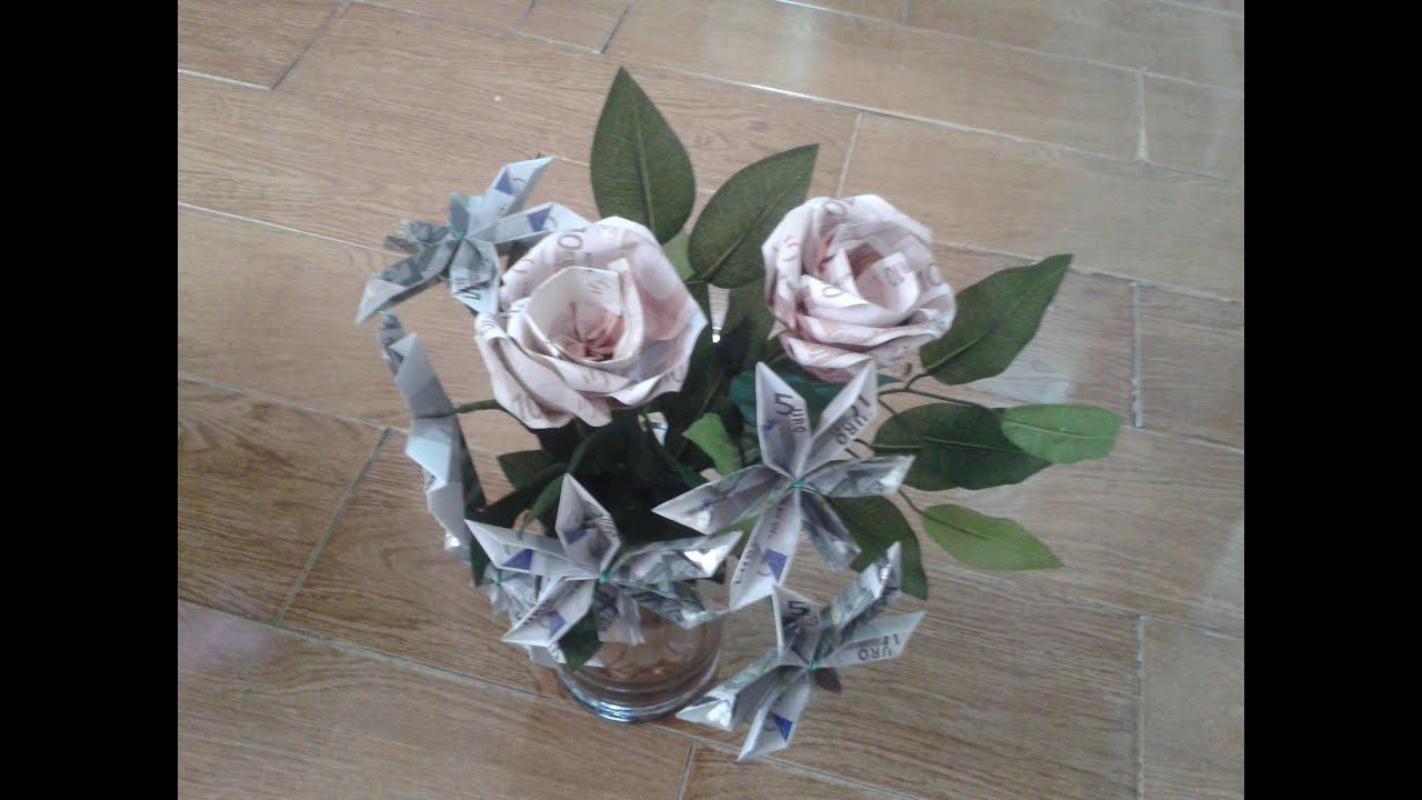 Manualidades como hacer un ramo de flores y rosas de - Como secar un ramo de rosas ...