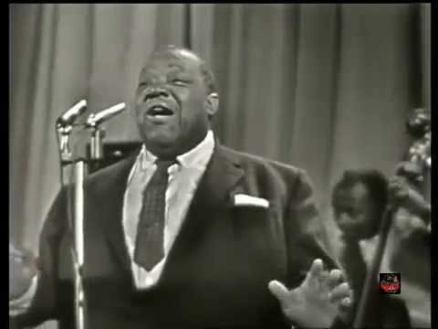 Jimmy Rushing w Dizzie Gillespie Quintet - Blues After Dark - France 1959 (LIve Video)