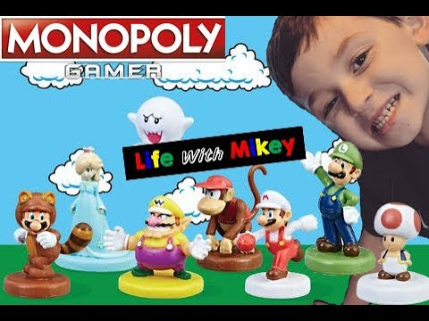 Monopoly Gamer Power Packs with LifeWithMikey