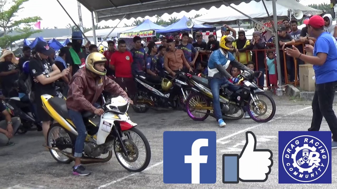 PART 9/18 125cc Sprint Test Drag Racing Kubang Menerong Mac 2018