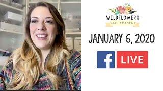 Facebook LIVE - January 6, 2020