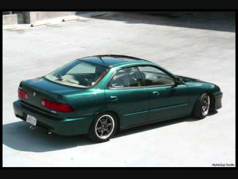 4DR Integra - YouTube