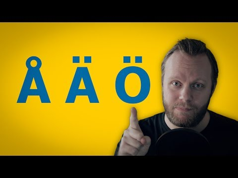 How to say ÅÄÖ (Swedish Umlauts)