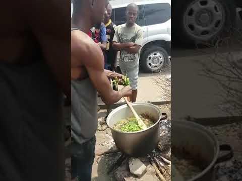 Street food Kinshasa