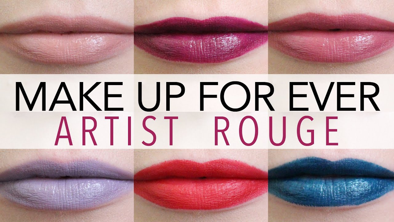 Image result for makeup forever artist rouge lipstick