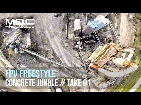FPV Freestyle // Concrete Jungle: Take 01