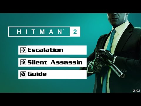 Hitman 2 The Dubious Cohabitation Escalation All Levels Silent Assassin Youtube
