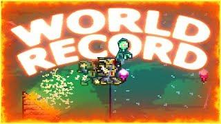 Terraria WORLD RECORD Long Jump!