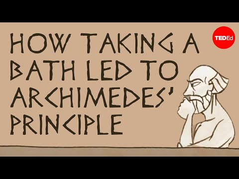 How taking a bath led to Archimedes