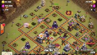 Clash of Clans Clan Ha Noi war 3 Hall 11 with 24 Hogs