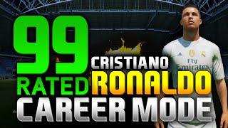 FIFA 16 | 99 RATED CRISTIANO RONALDO!!! (CAREER MODE)