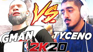 GMAN vs TYCENO BEST OF 7 MATCHUP OF THE YEAR - NBA2K20