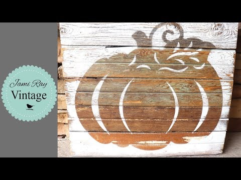 Dollar Tree DIY | Fall Decor | Pumpkin Sign | Dollar Tree
