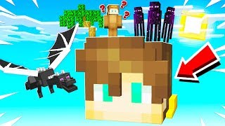 SURVIVING ON A GIANT CREAINER IN MINECRAFT!