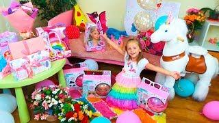 ПОДАРКИ на День Рождения Насти ИГРУШКИ для детей Собачка Chi Chi Love Пони LOL surprise