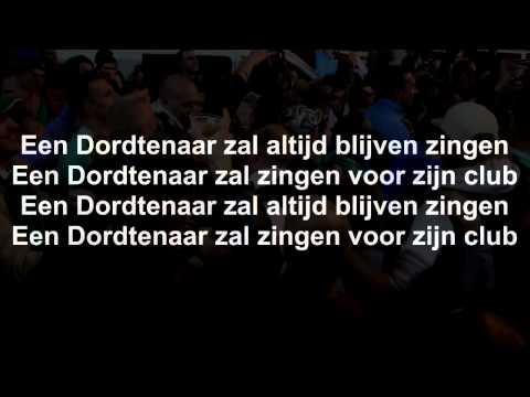 Karaoke Clublied Fc Dordrecht 2014 - Een Dordtenaar zal altijd blijven zingen