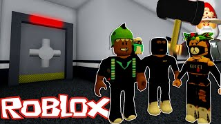 TRYING TO LEAVE THIS CRAZY FACILITY, I BRUNG BACK UP!! | ROBLOX: Flee The Facility