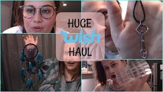 HUGE WISH APP HAUL!! OVER 50 ITEMS!! ARE THEY ANY GOOD?!