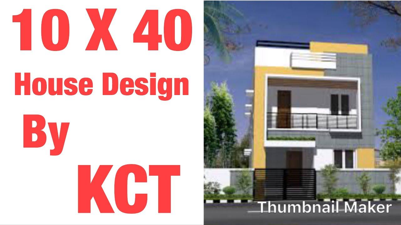 10 X 40 House Design , 45 GAJ Naqsha , 1 BHK 44 Gaj