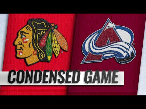 12/29/18 Condensed Game: Blackhawks @ Avalanche