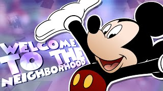 Mickey Mouse Plays - France QUELQU'UN S'EST CASSÉ DANS MA MAISON. Ville de Roblox Meep