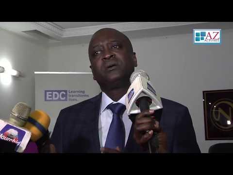 Interview du Directeur du Projet APTE-Sénégal à la ceremonie de lancement