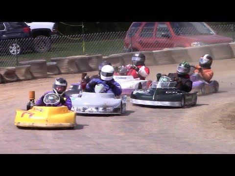 Senior Heavy Flathead Kart Feature | Eriez Karts | 8-13-17