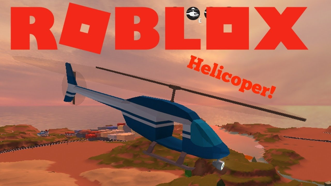 how to spawn a helicopter in jailbreak roblox
